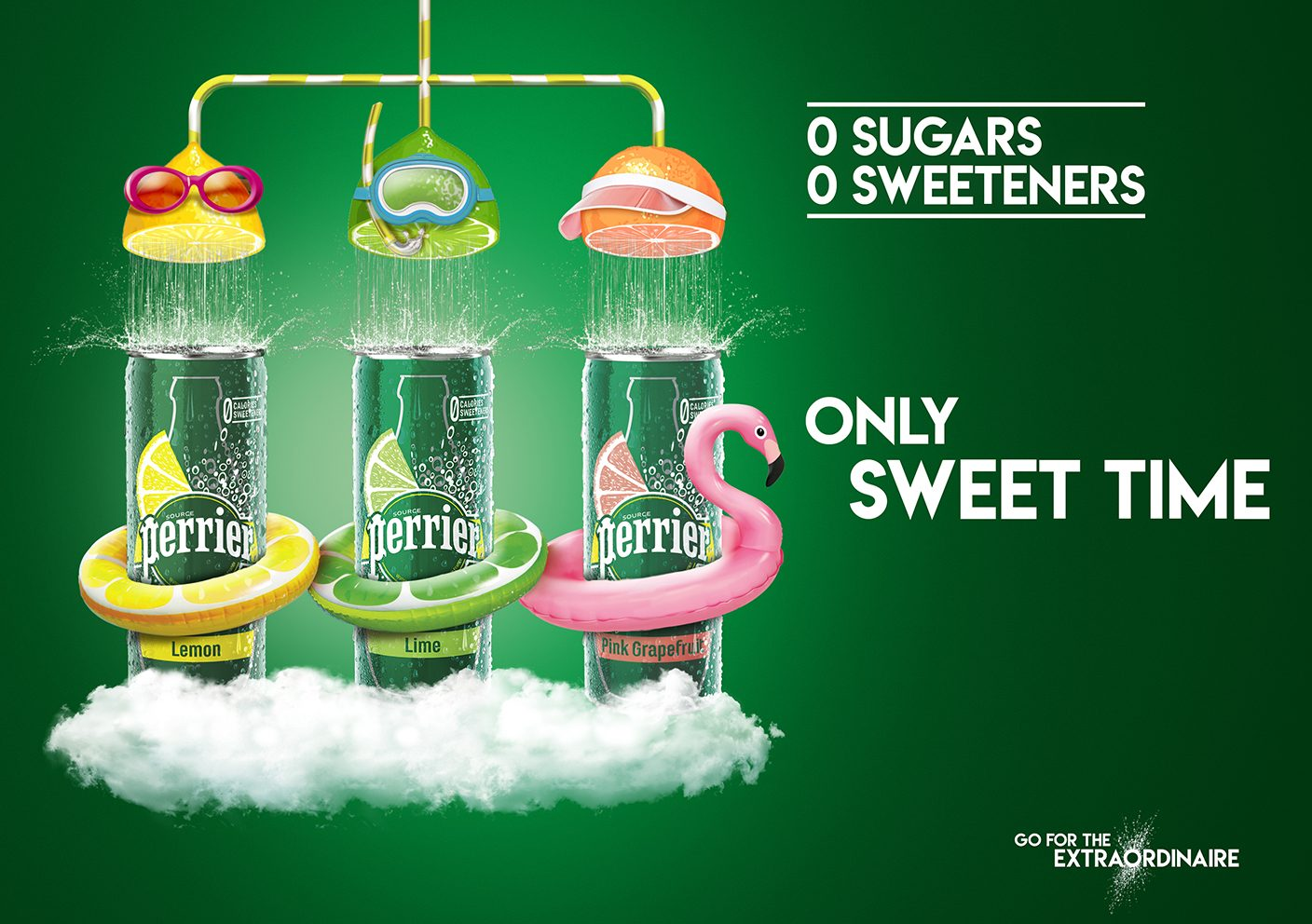 PERRIER HEALTHIER ENJOYMENT