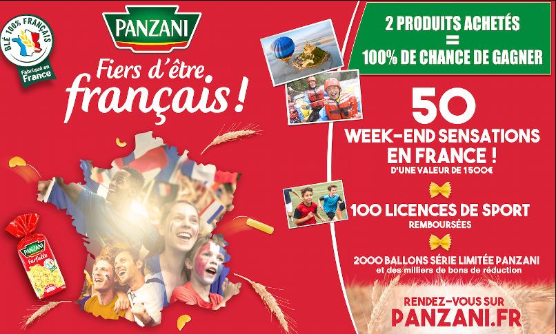 PANZANI  FIERS D'ÊTRE FRANÇAIS !